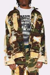 LIAM HODGES - ACID BURN CAMO JACKET