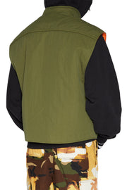 LIAM HODGES - CRASH GILET - KHAKI