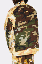 ACID BURN CAMO JACKET