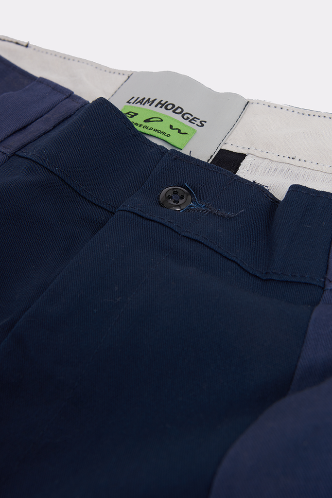 NAVY PANELLED WORK PANT