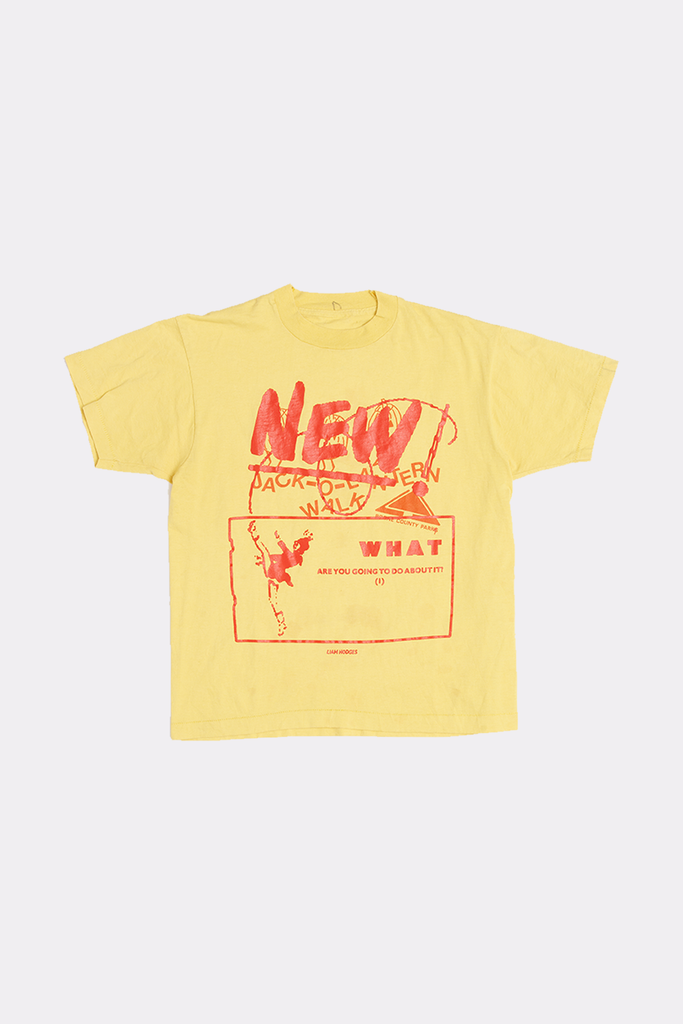 NEW NEW NEW WHAT YOU GONNA DO? TEE - MEDIUM