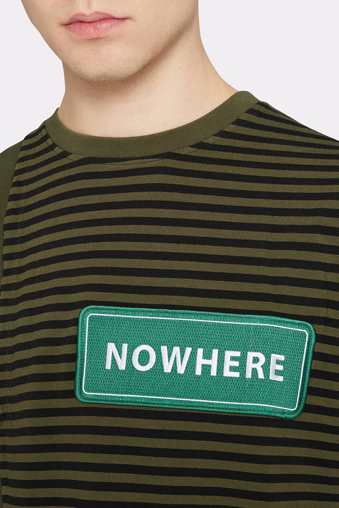 NOWHERE CONTRAST TOP