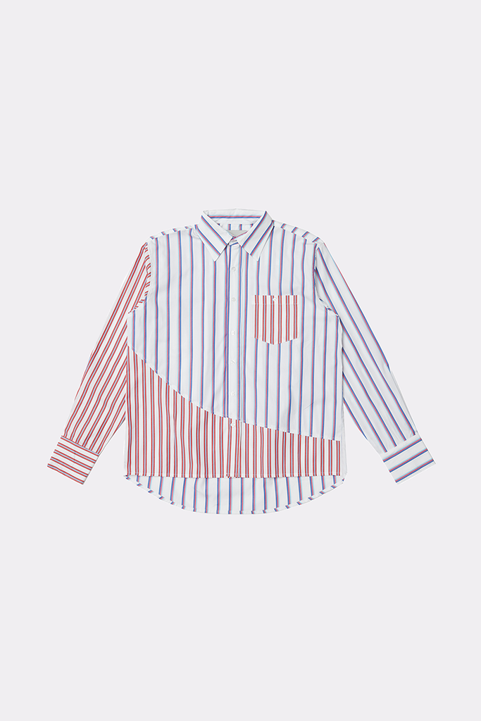 PARALLEL DIMENSION SHIRT - BLUE - Liam Hodges LTD