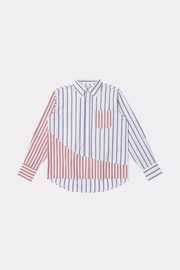 PARALLEL DIMENSION SHIRT - BLUE - Liam Hodges