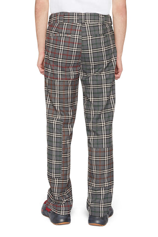 PATCHWORK CIGAR TROUSERS