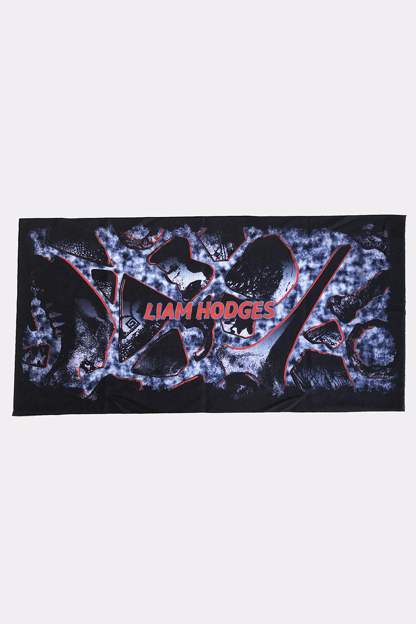 LIAM HODGES, LIAM HODGES MENSWEAR, MADE IN THE UK, LIAM HODGES UK, LONDON DESIGNER, LONDON MENSWEAR, SPRING SUMMER 2021, SS21, LUXURY STREETWEAR, MENS STREETWEAR, UK MENS STREETWEAR, LUXURY MENSWEAR, LIAM HODGES THIN ICE NECK GAITER, LIAM HODGES NECK GAITER, LIAM HODGES FACE MASK, FACE COVERING, NECK COVER, GAITER, MASK, MENS FACE MASK, MENS FACE COVER