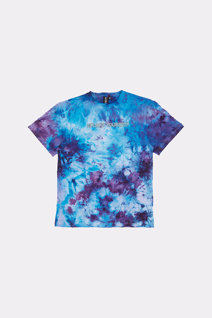 Transmutations Blue Overdyed Tee - Liam Hodges