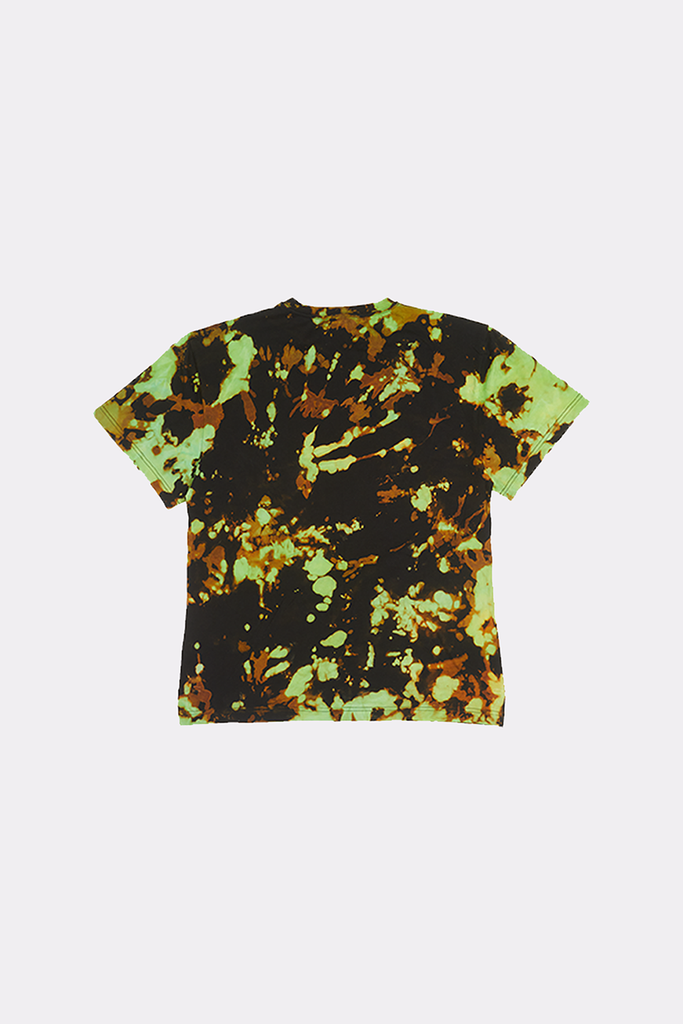Transmutations Green Overdyed Tee - Liam Hodges LTD