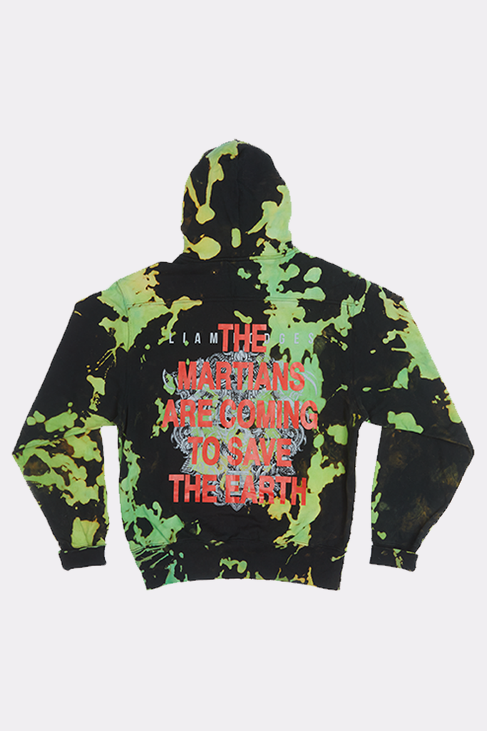 Transmutations Green Overdyed Hoody - Liam Hodges
