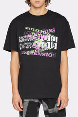 LIAM HODGES - MUTATIONS IN 4D TEE - BLACK