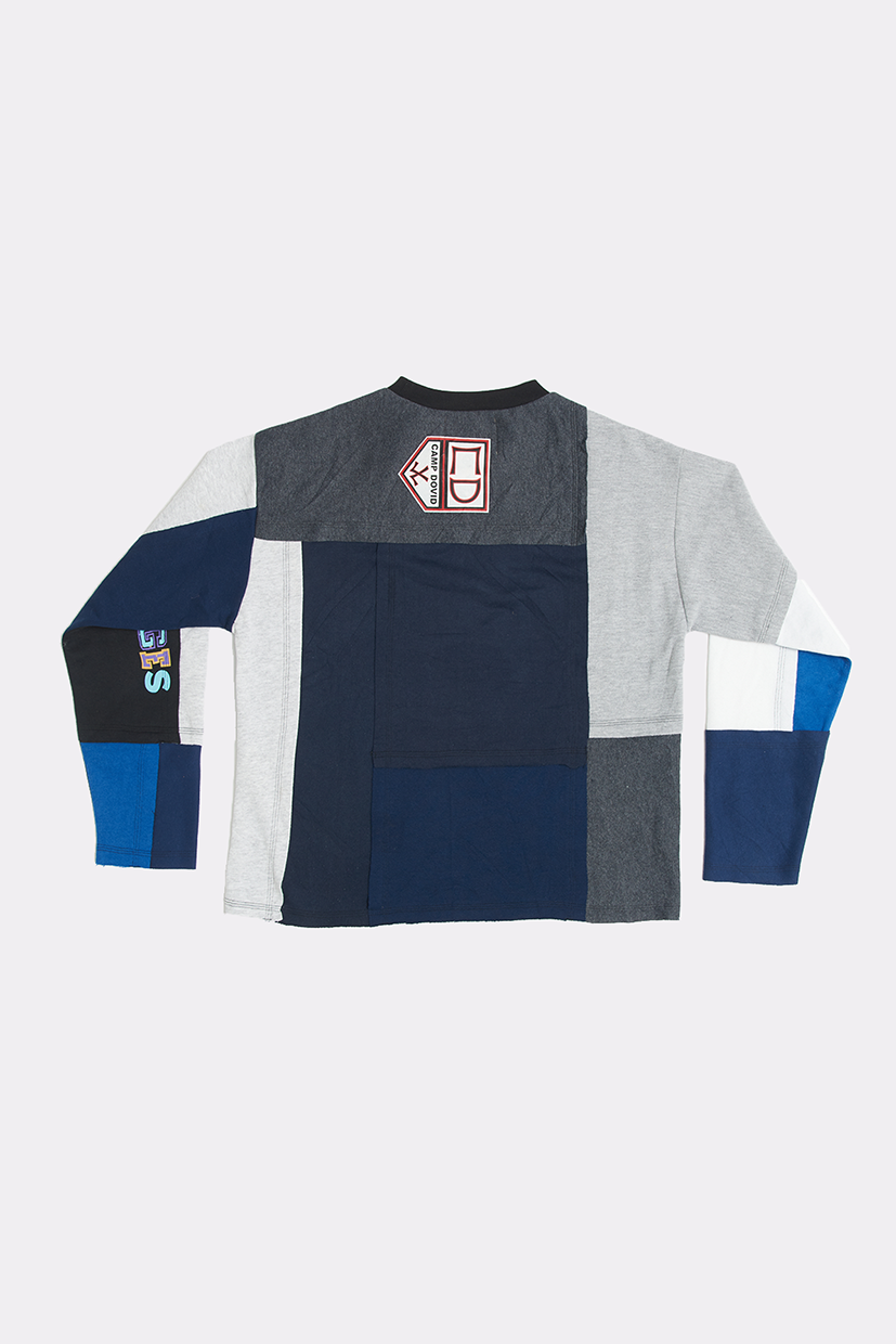 OVERPRINT PATCHWORK CREW - SMALL