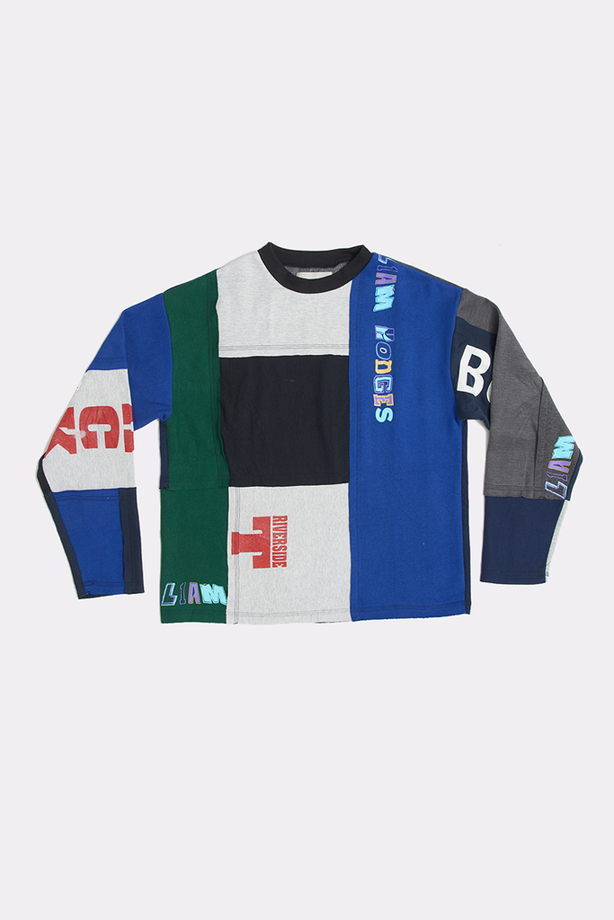 OVERPRINT PATCHWORK CREW - MEDIUM