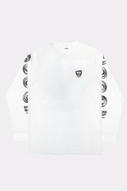 LIAM HODGES - WORMHOLE LONG SLEEVE - WHITE