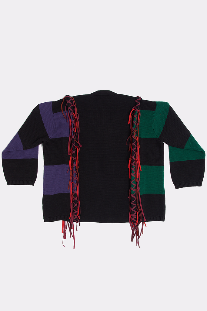 EMBROIDERED CARDIGAN - Liam Hodges LTD