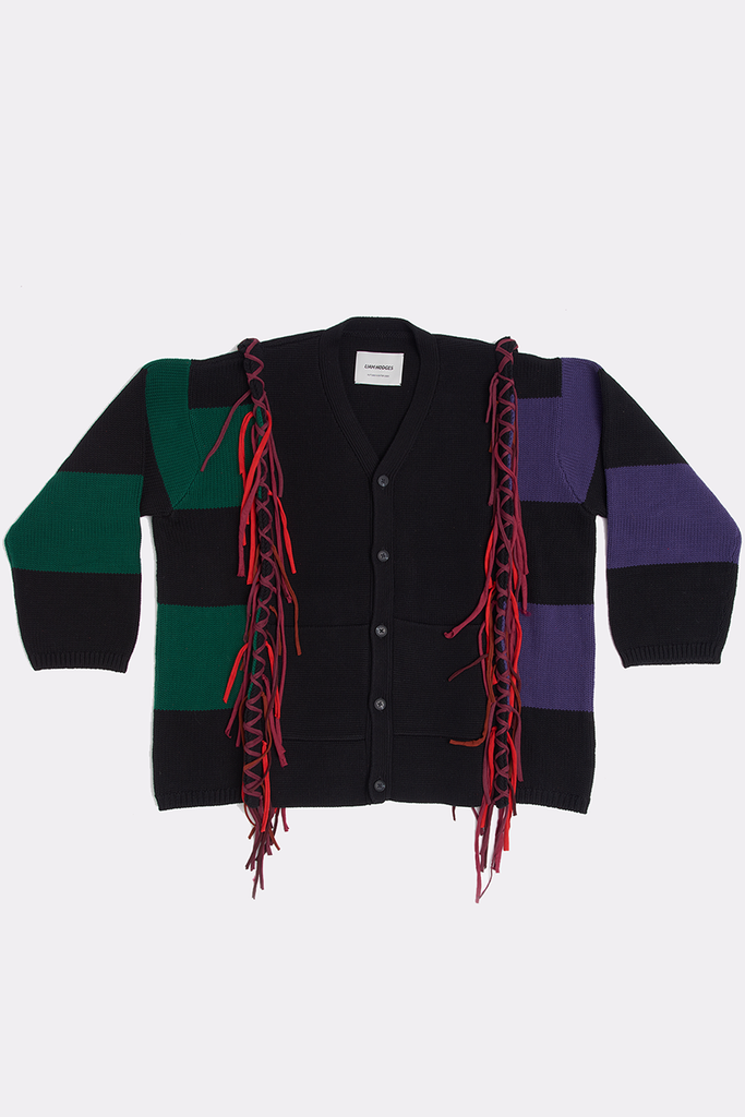 EMBROIDERED CARDIGAN - Liam Hodges