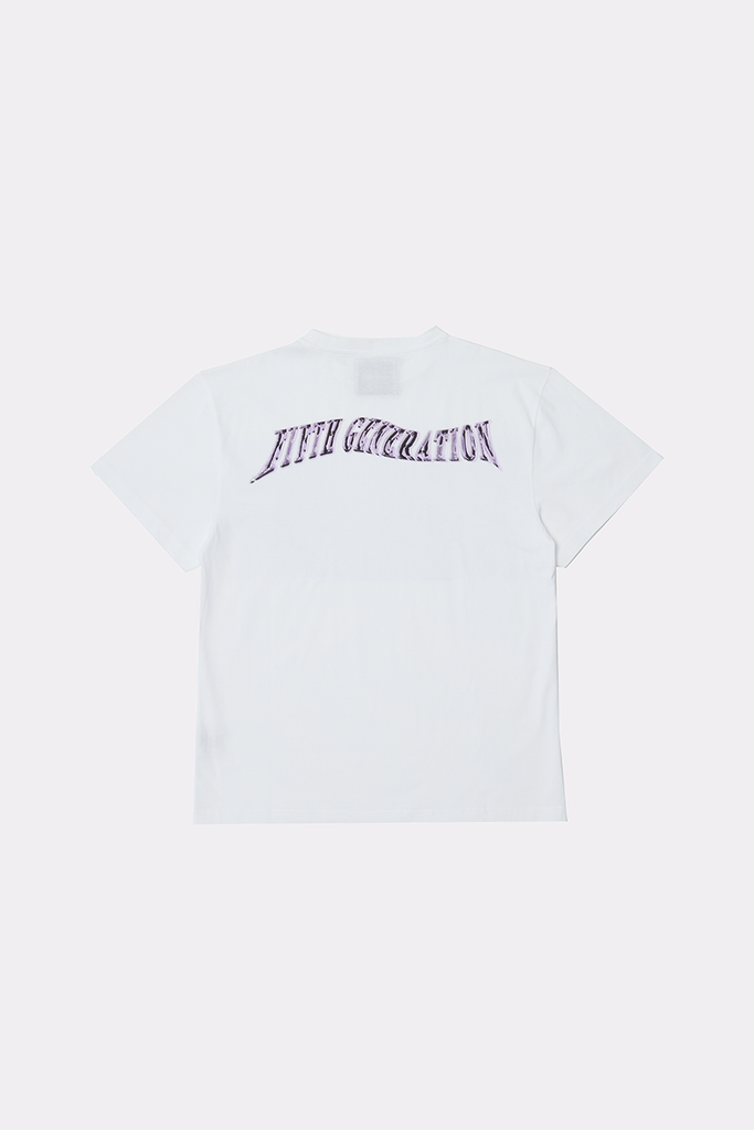FIFTH GENERATION TEE - WHITE - Liam Hodges LTD