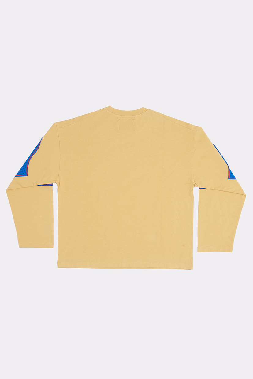 COCOON SHREDDED LONG SLEEVE - LARGE