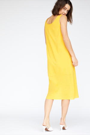 Pippa Dress - Canary Yellow
