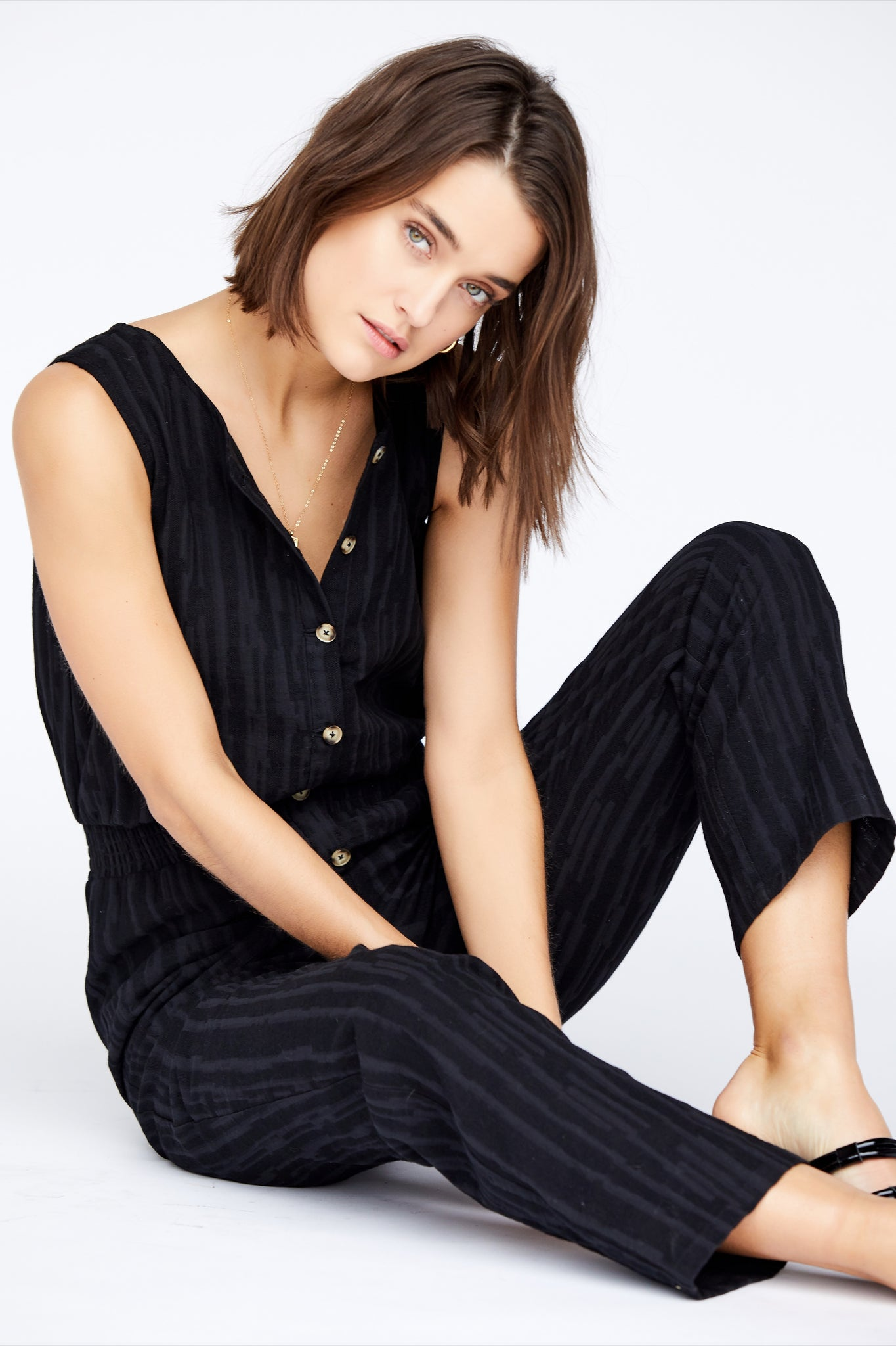 Stella Jumpsuit - Black