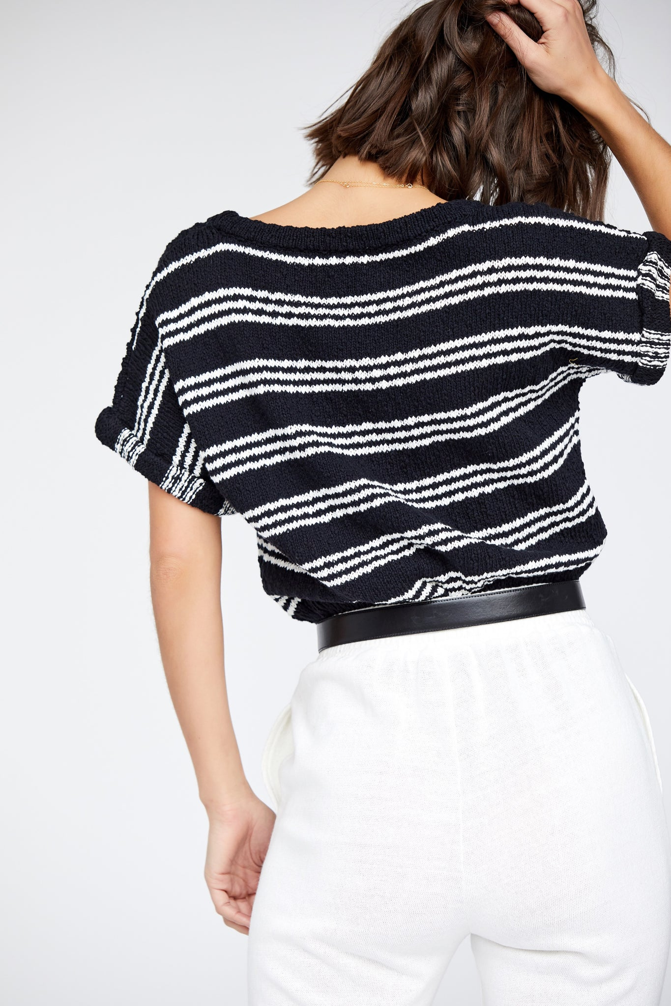 Taylor Top - Black/White