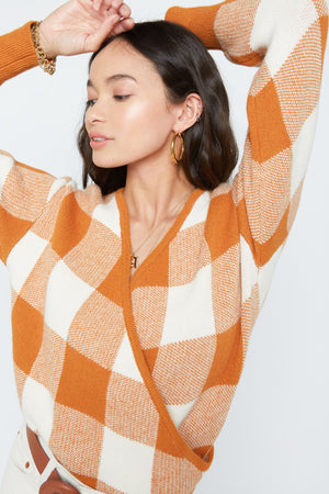 Agnes Wrap Sweater