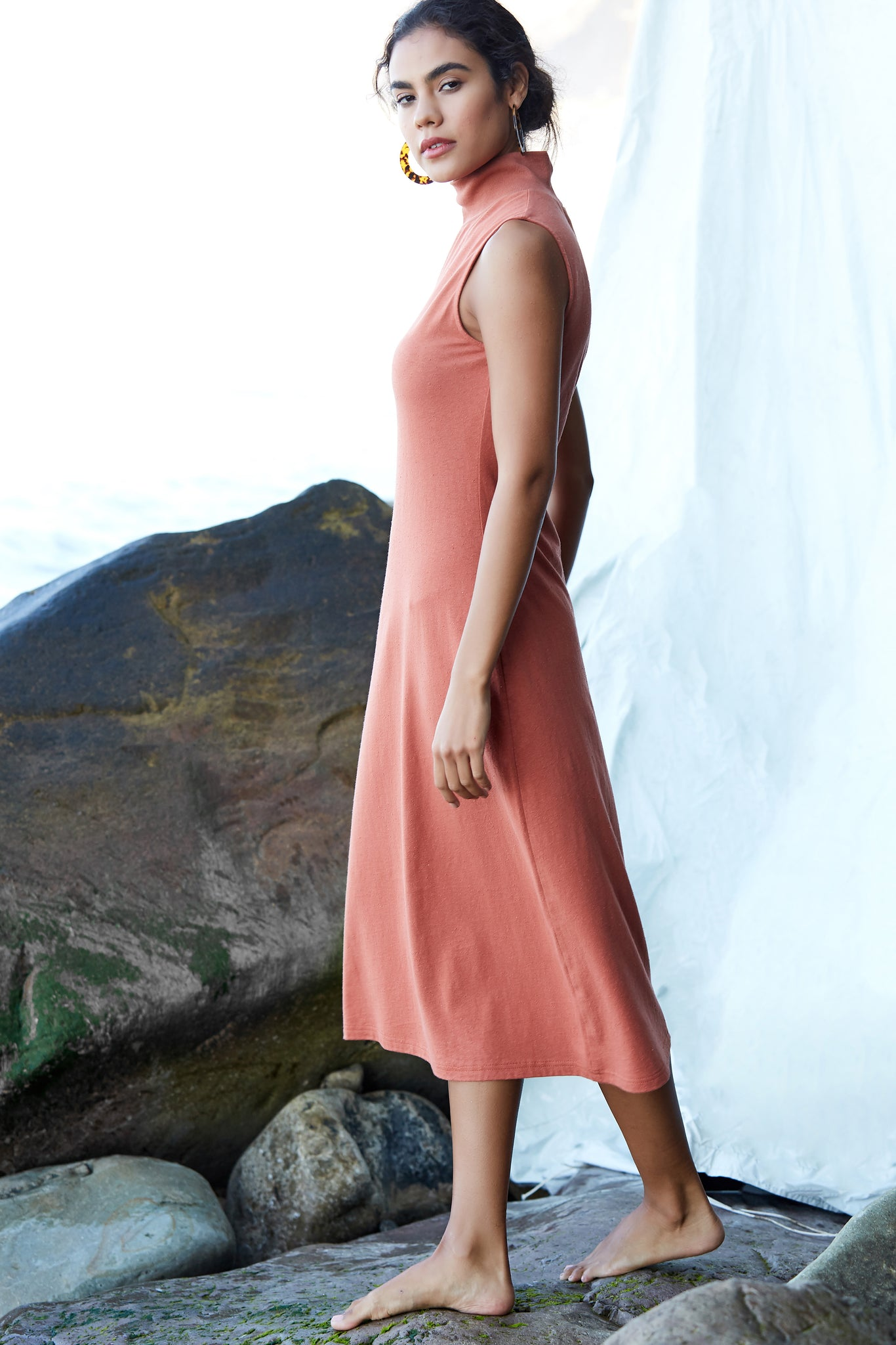 Beck Dress - Sandstone