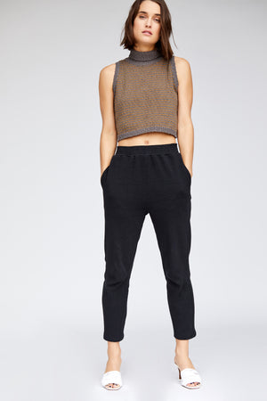 Liv Sweater Tank - Charcoal/Otter