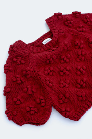 Cheri Sweater - Rust