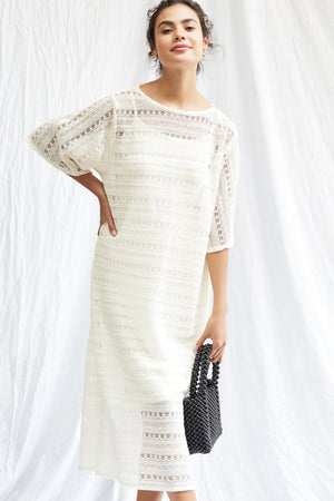 Cordelia Dress - Creme