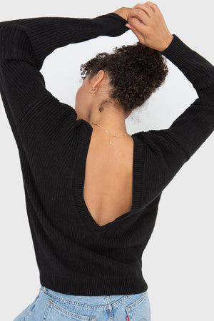The V-Back - Black
