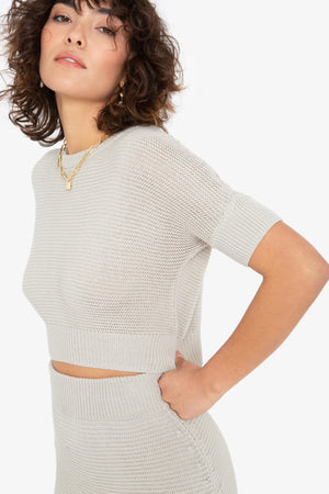 Eve Top - Grey
