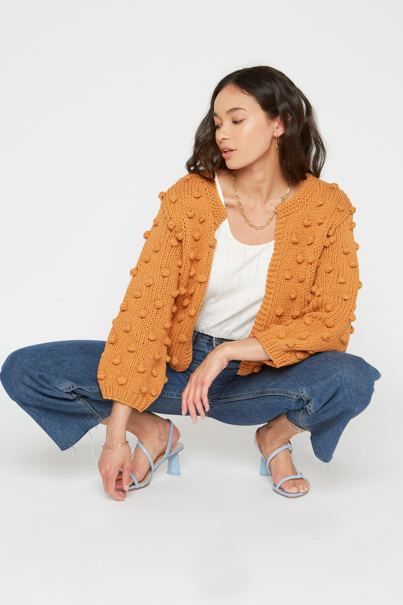 Rose Cardigan - Honey