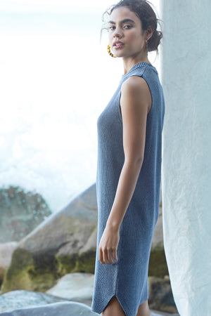Tasi Dress - Indigo