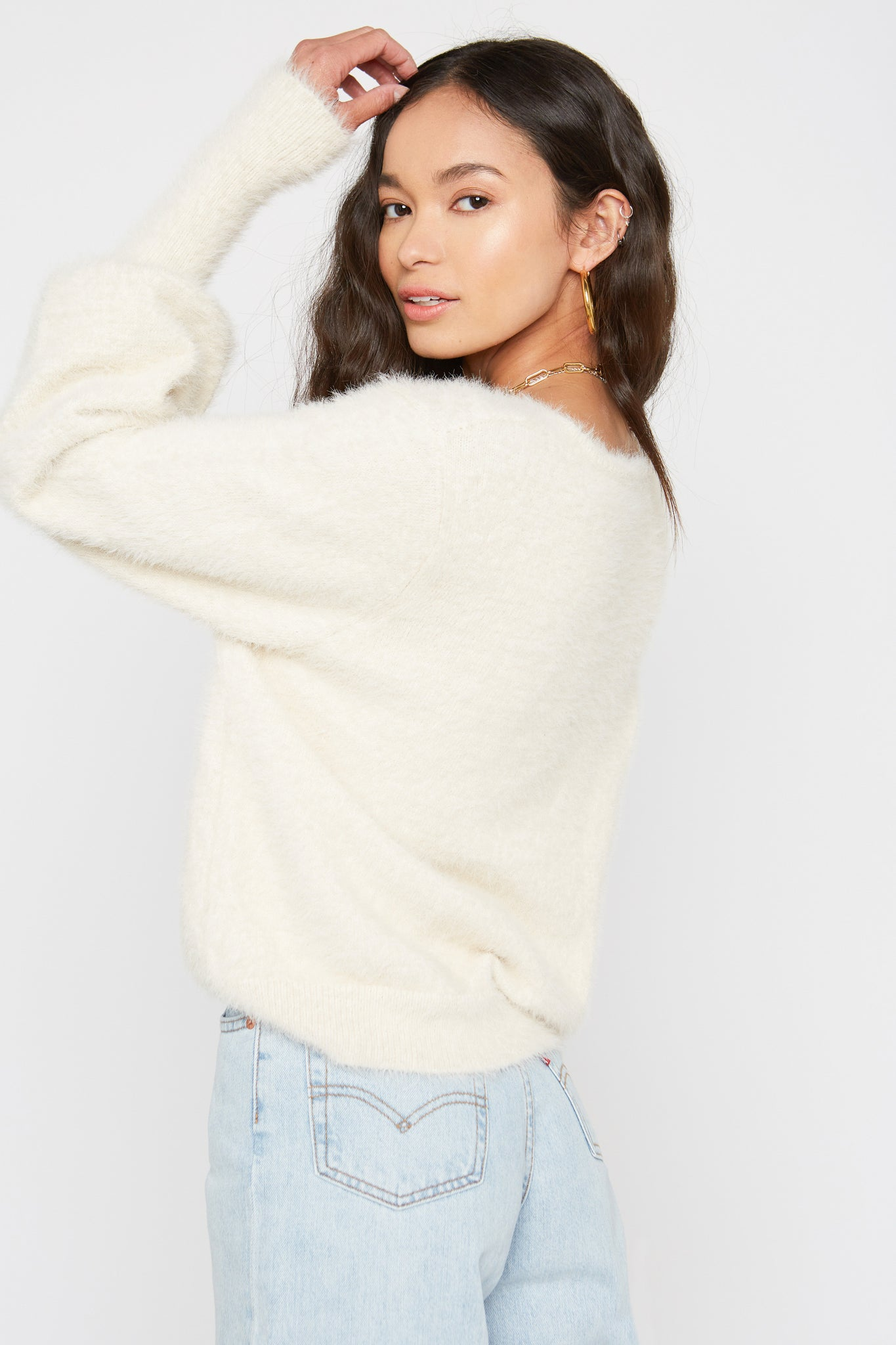 Tate Sweater - Creme