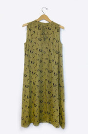 Michi Dress-seaweed