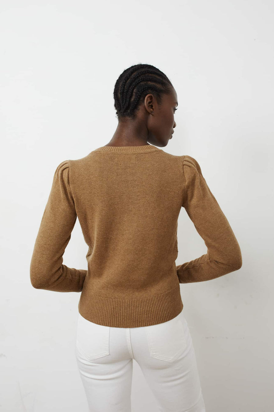 Kleely Sweater-camel