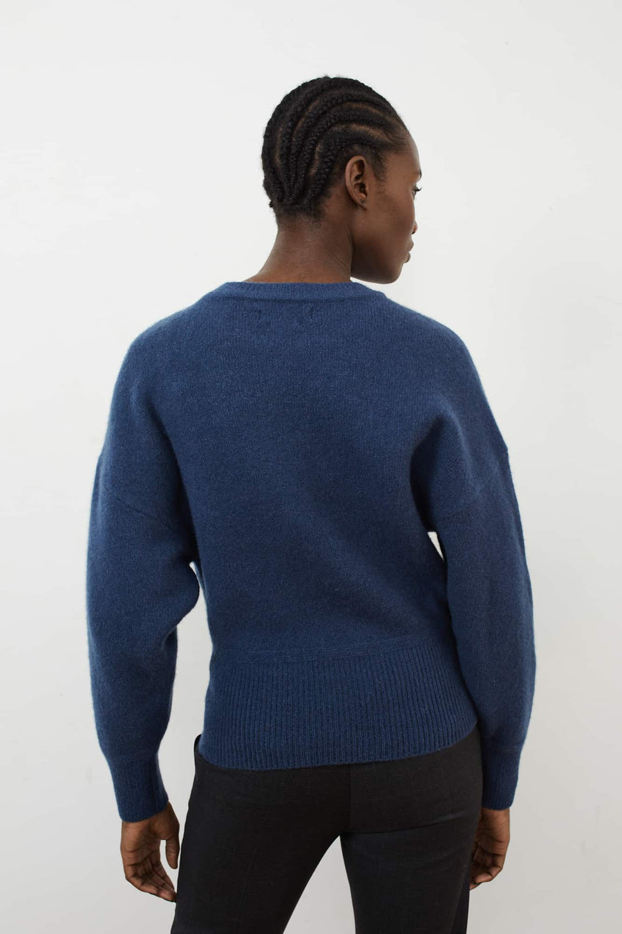 Duffy Sweater-greyish blue