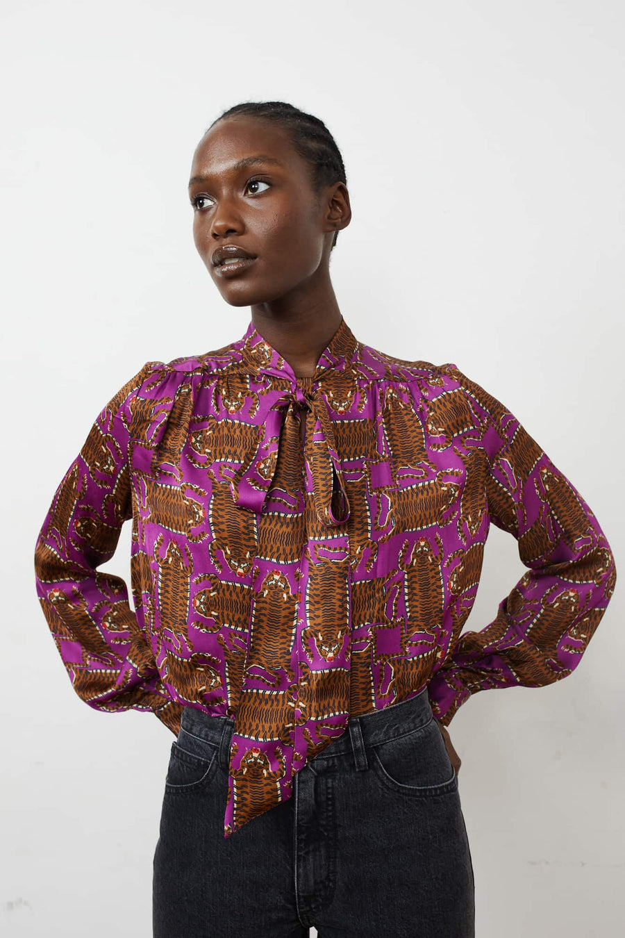 Upland Blouse-purple