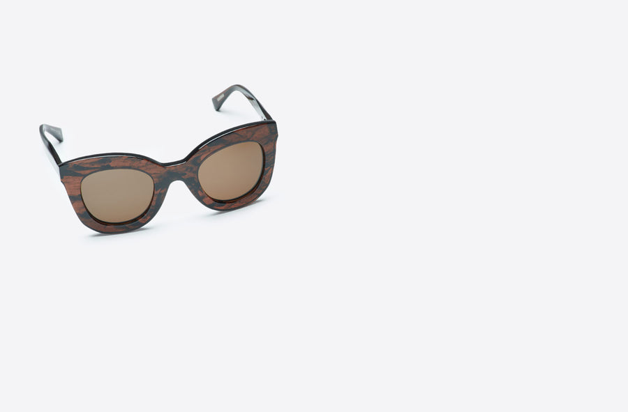 Rosalba Sunglasses-dark brown