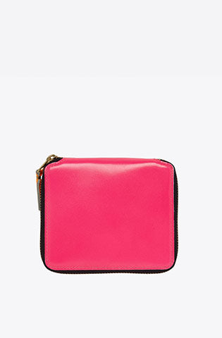Super Fluo Zip-Around Wallet-pink