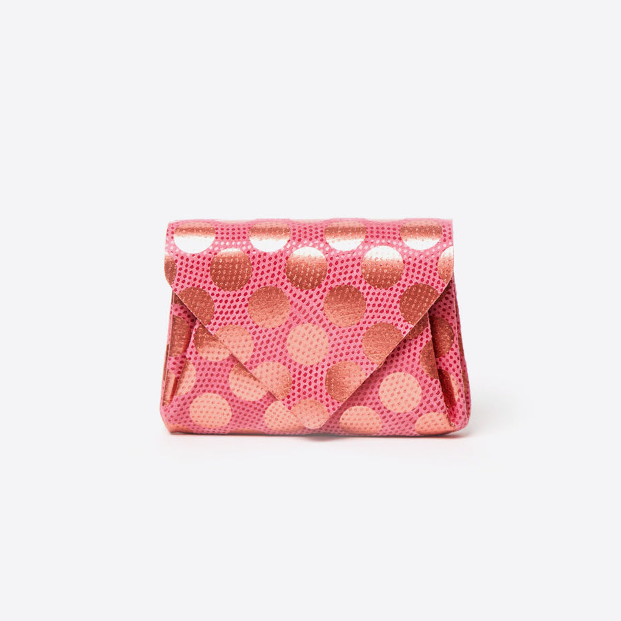Mini Dot Wallet-strawberry