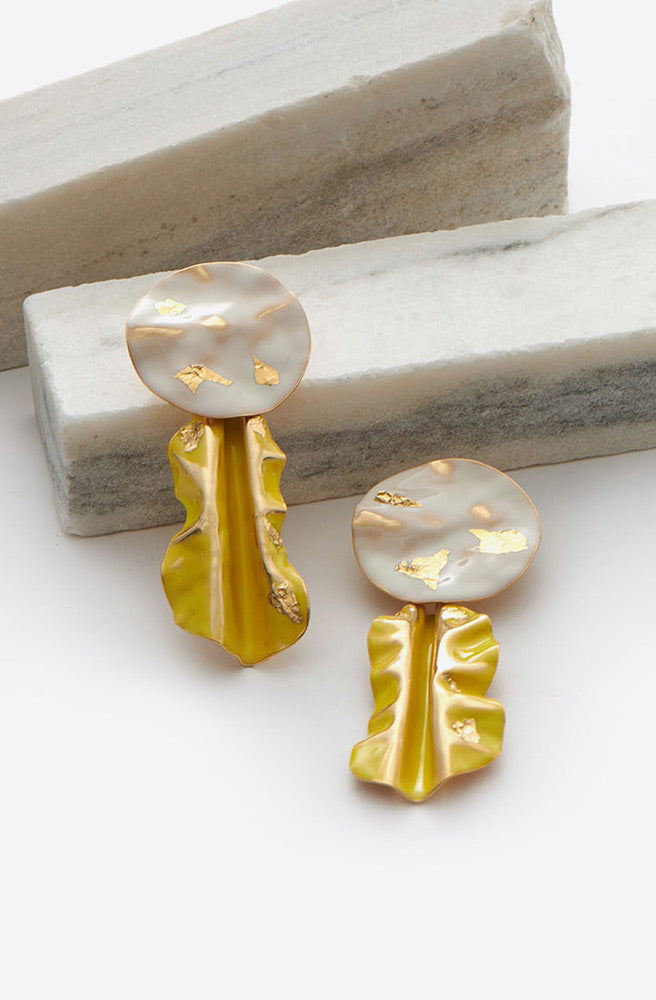 Fender Earring-bone/chartreuse