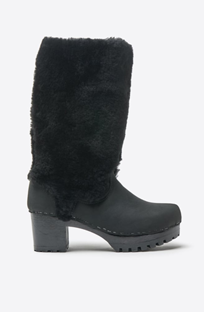 Alpha Shearling Mid Tread Boot-midnight/black/black base