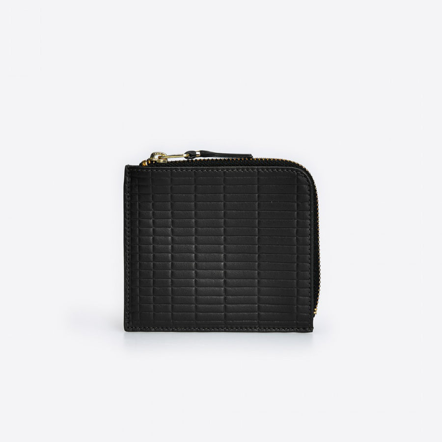 Brick Line Corner Zip Wallet-black