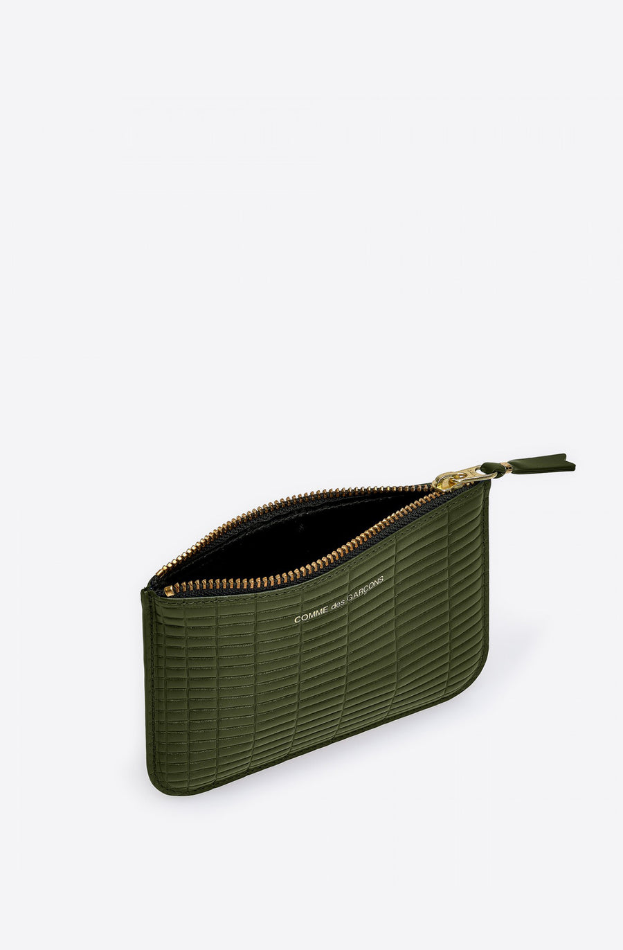 Brick Line Small Zip Pouch-khaki
