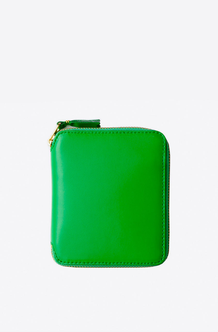 Classic Leather Zip-Around Wallet-green