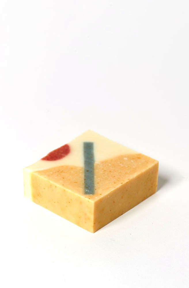 JeJu Orange Lemongrass Soap-orange sweet lemongrass