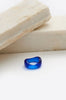 Resin Wave Ring-blue