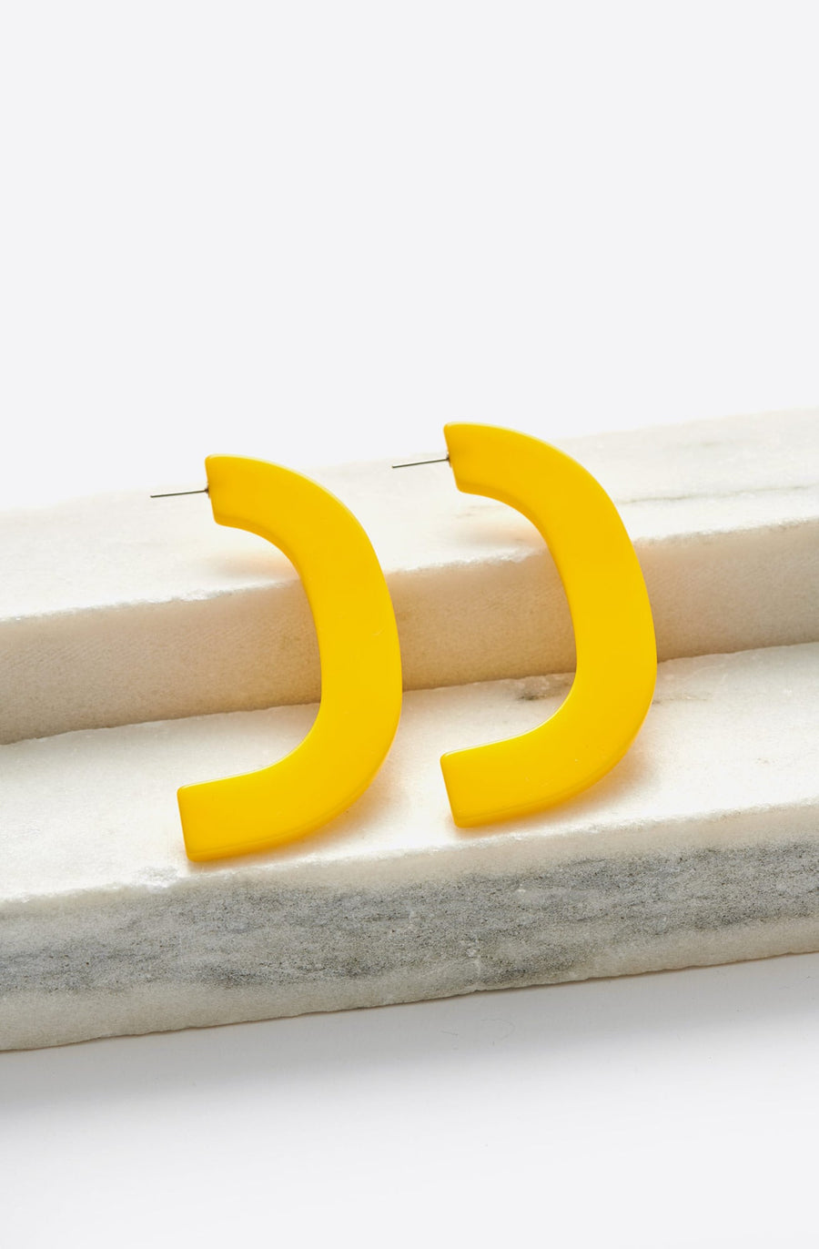 Handle Earrings-yellow