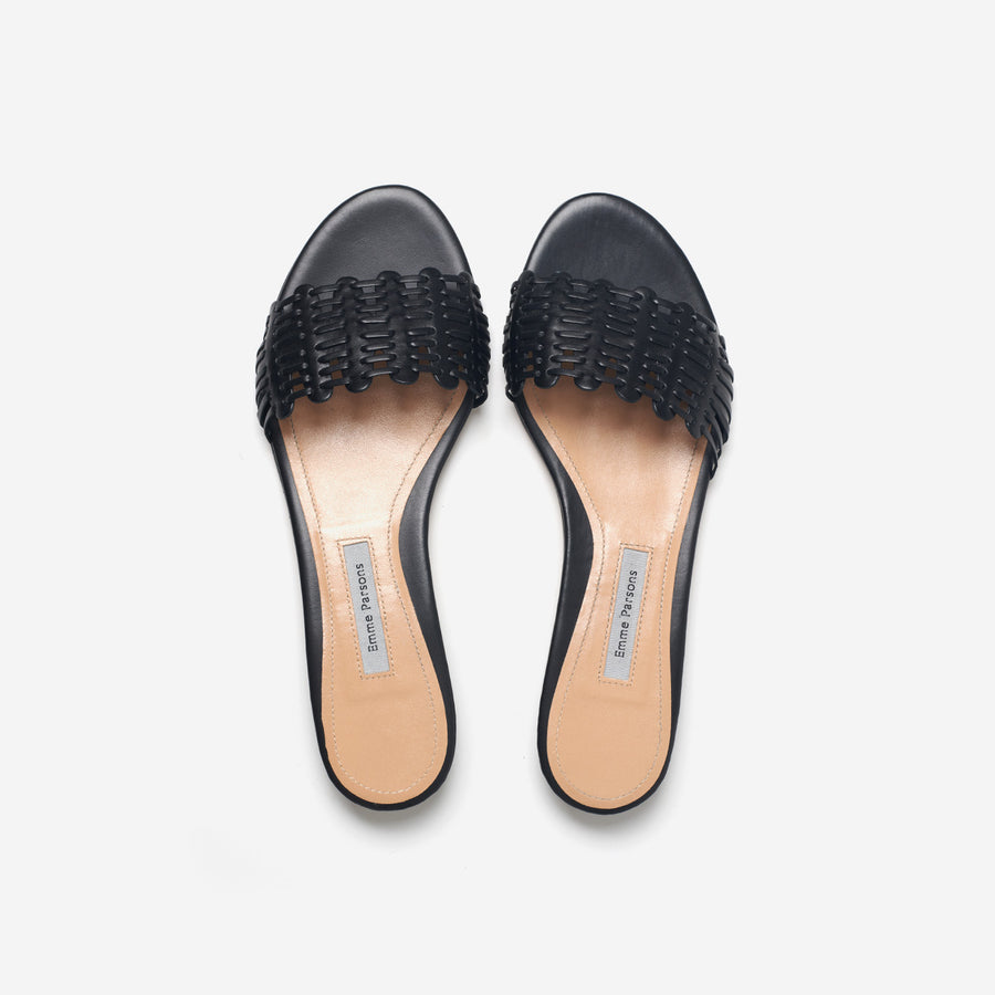 Paloma Slide-black